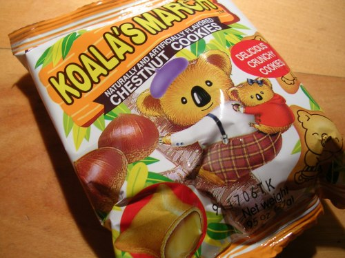 Koala's march chestnut crackers