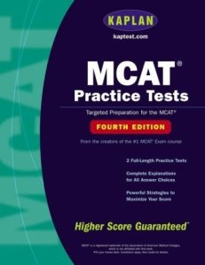 Kaplan MCAT Practice Tests, Fourth Edition