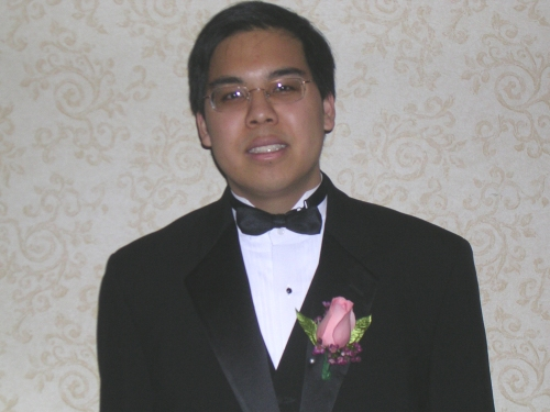 Greg at senior ball