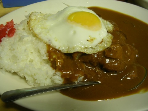 Cafe Mami pork cutlet curry