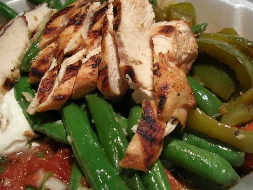 Chicken fajita fillings