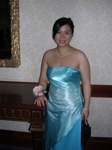 Me at senior ball