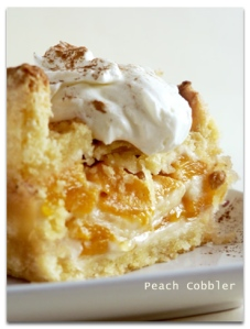 What my peach cream pie looked like...