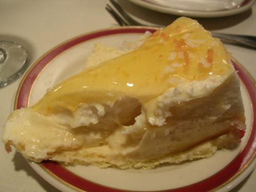 Carribean mango colada cake