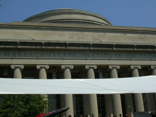 MIT dome, with graduation hack