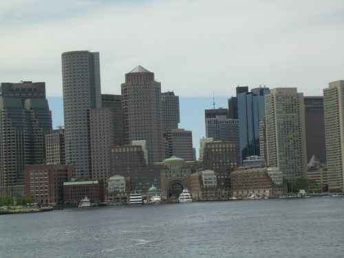 The gates of the city of Boston