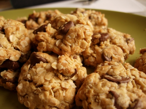 Chocolate chip oatmeal variation