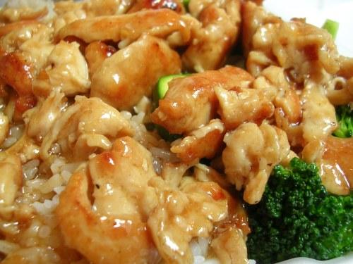Chicken teriyaki from food court