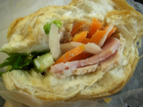 Vietnamese cold cuts sub