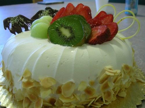 Chestnut paste cake