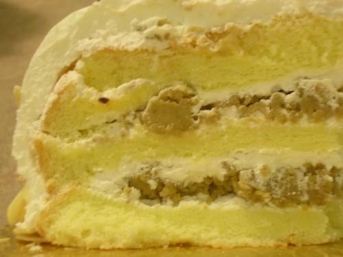 Chestnut paste cake filling