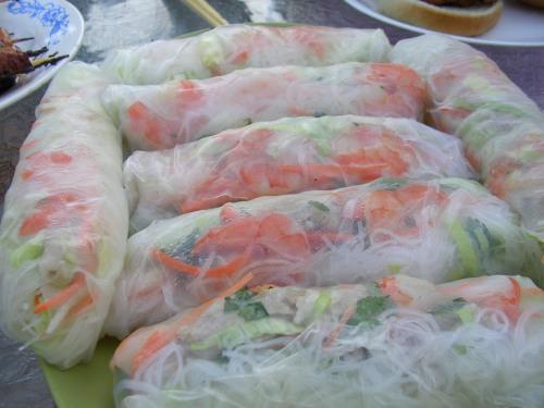 Vietnamese summer rolls
