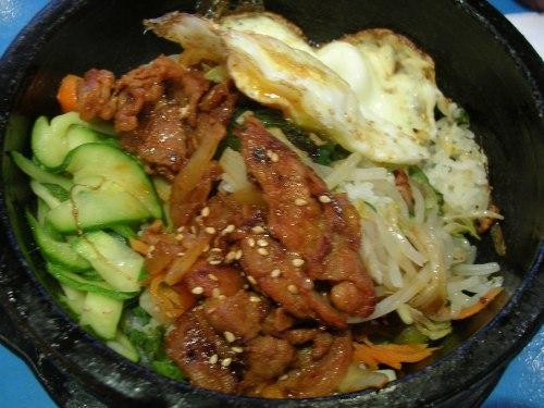 Korean spicy chicken dish