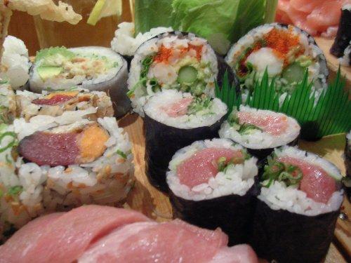 my sushi rolls