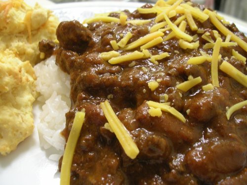 chili on rice