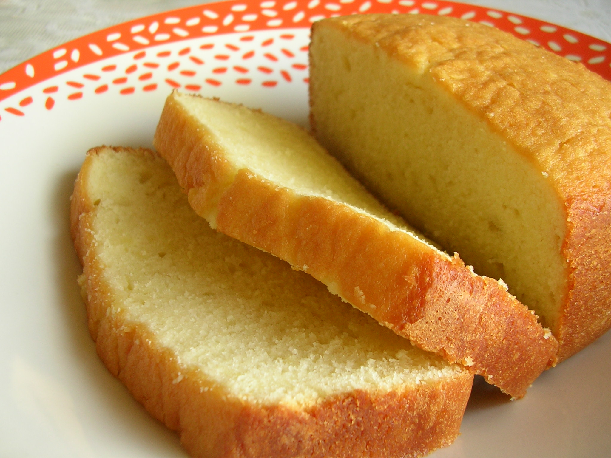 Egg Pound Cake Cream Cheese