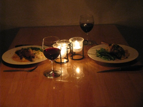 18 month candlelight dinner